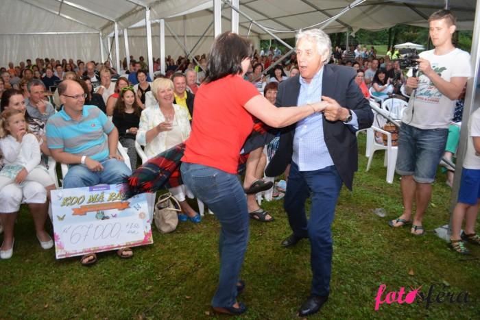 Podívejte se na divoký tanec Josefa Laufera