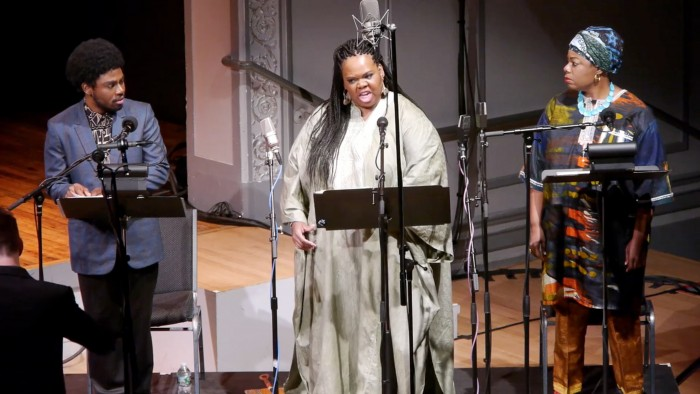 Julian Terrell Otis, Gwendolyn Brown, Joelle LaMarre. Foto Ross Karre