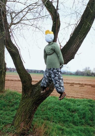 Jidáš pověšený na vrbě bude spálen, Velký pátek v Rajhradicích-Loučce, 2001