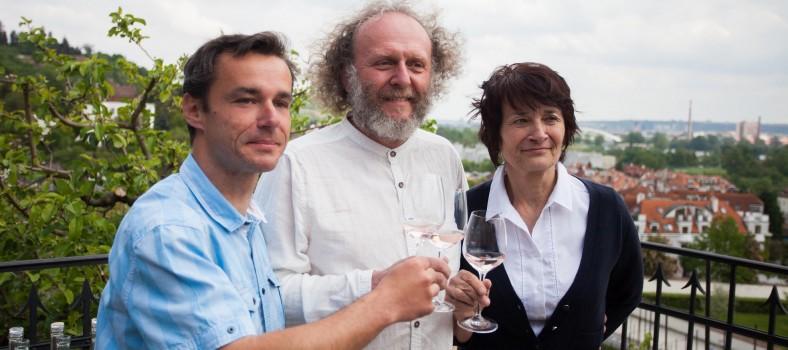 Křest vína ročníku 2015 s hercem Jaroslavem Duškem (3)