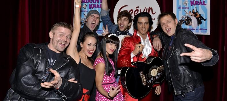 Herci a zpváci muzikálu Srdcový král s Elvisem (1)