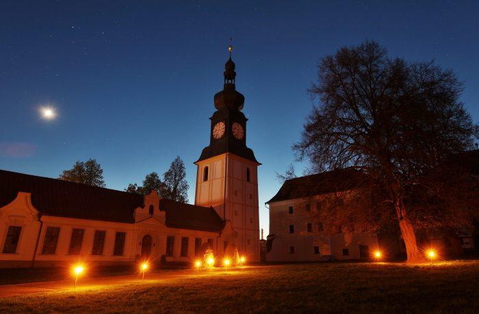 Večerní zážitkové prohlídky na zámku ve Žďáru nad Sázavou (3)
