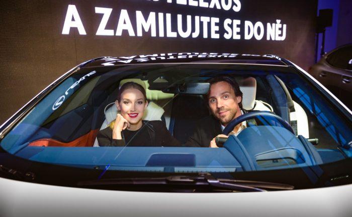 3 P. Vojtek (jezdi Lexusem)a P. Vraspirova Lexus34