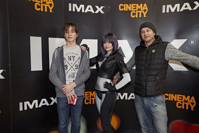 Kryštof Michal se synem IMAX