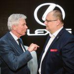 MUDr. Jan Mestak a gen. red. Toyota a Lexus M. Peleska Lexus14