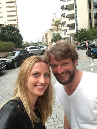 Petra Kvitová s Ondřejem Pýchou Ondřej Pýcha_Huawei