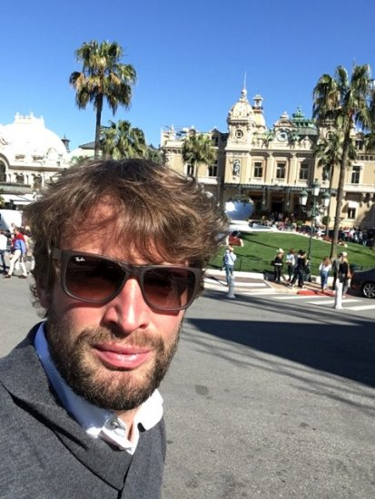 Selfie u kknížecího paláce Ondřej Pýcha_Huawei