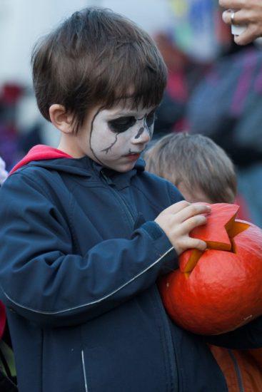 Halloween v botanické zahradě (9)