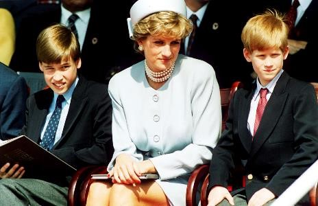 MOM Diana William Harry Heads of State Remembrance service 5.7.1995 _Getty Images