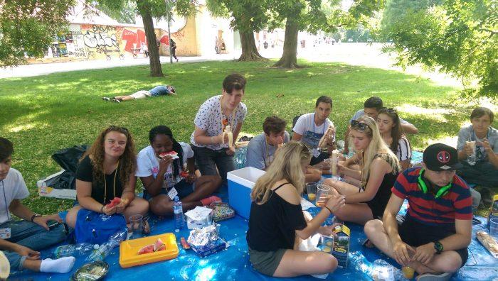Piknik at Kampa