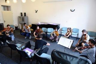 Zkouška violistů s Nikolausem Schlierfem
