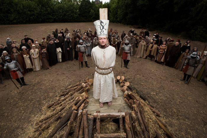 Jan Hus. Fotografováno v Kutné Hoře. Primárně nepoužívat pro promo