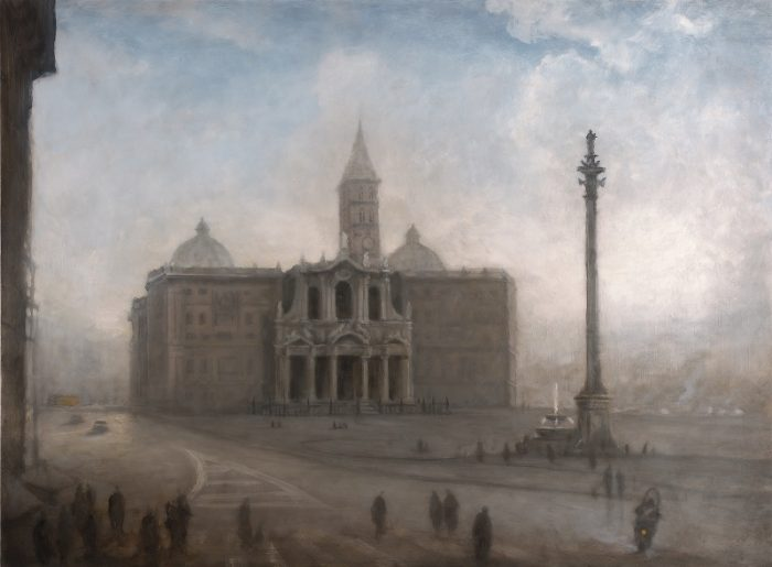 Anna Keen_Santa Maria Maggiore, Rome_oil on cavas, 89 x 116, 2013_small