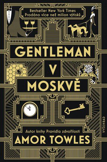 obálka - Gentleman v Moskve