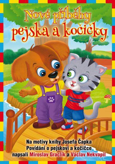 2018 titul knihy Nové příběhy pejska a kočičky