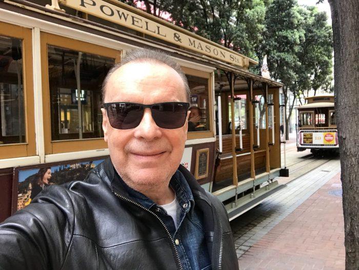 Stefan Margita u lanove tramvaje v San Franciscu (2018)