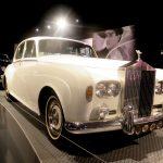 Elvisův bílý Rolls Royce z roku 1966 (photo Hana Lysáková)