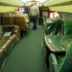 Interiér Elvisova letadla v Gracelandu (photo Hana Lysáková) 2