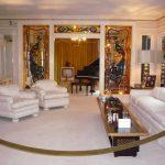 Obývací pokoj v Gracelandu (photo Alena Beranová)