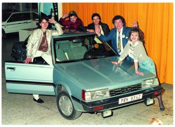 Pavel Novák měl v devadesátých letech kapelu Family kterou tvořili jeho dva synove a dcera s manželem
