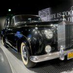 Tímhle černým Rolls Roycem se v 60. letech proháněl Elvis po Memphisu, Los Angeles a Hollywoodu (photo Hana Lysáková)