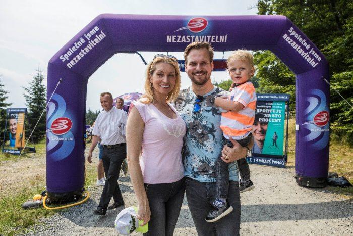 06.07.2018 - Martin Chodúr s přítelkyní Ivonou a synem Martinem na Pustevnách (photo Jiří Zerzoň)