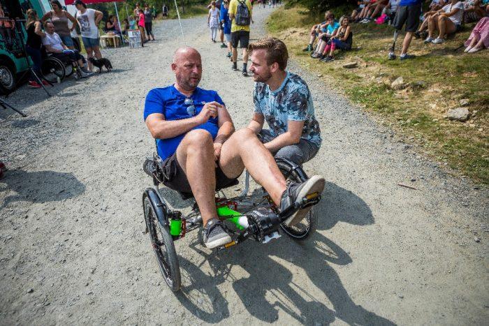 06.07.2018 - Martin si měl co říct se Stanislavem Fraisem z Brna (photo Jiří Zerzoň) 1