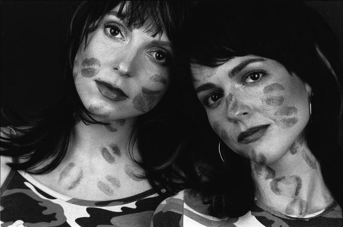 Eva Borská skupina Pussy - Ewa a Markéta rok 2003 Foto Jakub Ludvík 4