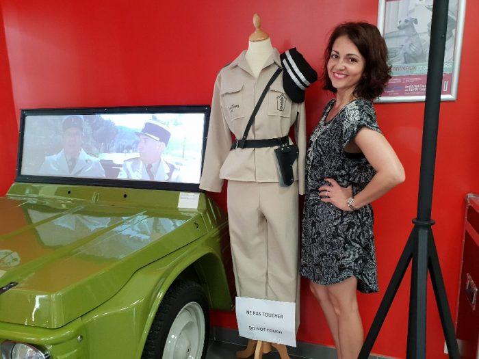 Eva Borská4-V četnické stanici v přímořském letovisku Saint Tropez navštívila Eva muzeum přibližující světoznámé četnické kom