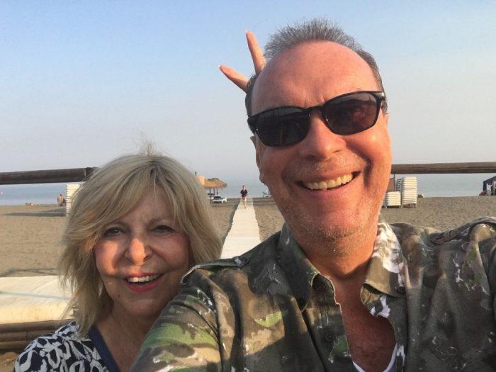 Hana Zagorová a Štefan Margita v Malaze (2018) 2