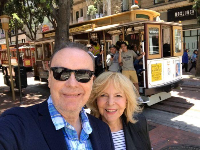 Hana Zagorová a Štefan Margita v San Franciscu (červen 2018)