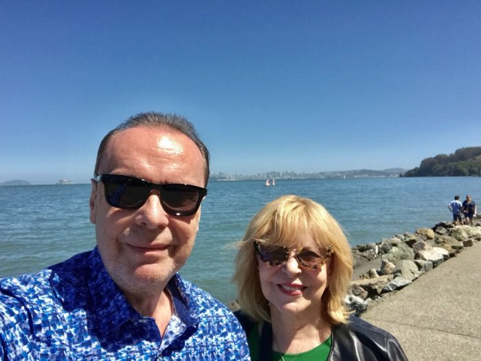 Hanka Zagorová a Štefan Margita na výletě v legendárním vězení Alcatraz (2018)
