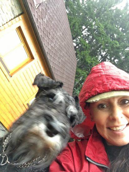 Heidi ani Edovi déšť v Beskydech nevadil