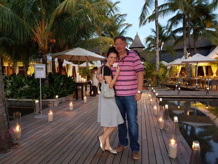 Mauricius1-Eva Borská s partnerem si na Mauriciu užívali teplo na přelomu letošního roku
