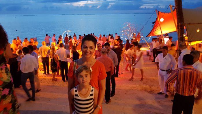 Mauricius8-Slavit Nový rok na pláži ostrova Mauricius byl pro Evu obrovský zážitek