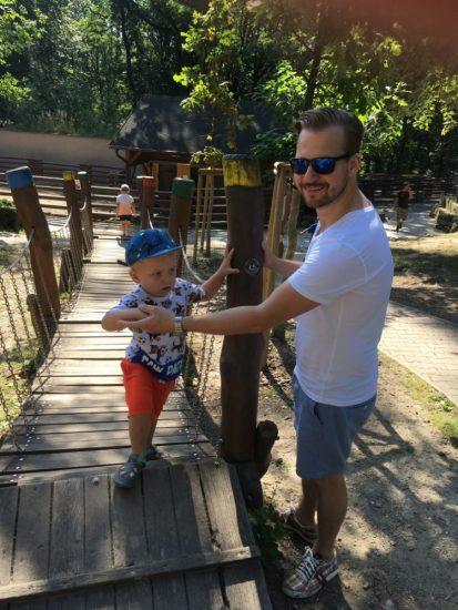 Syn a otec Chodurovi v ostravske zoo 2