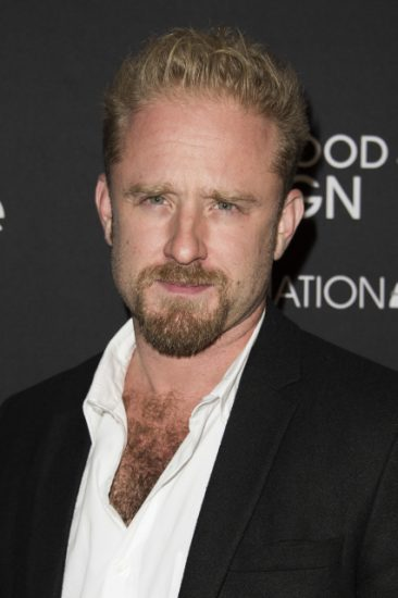 Ben Foster attends The Hollywood Foreign Press Association (HFPA) and InStyle's annual Toronto International Film Festival celebration at The Windsor Arms Hotel on Saturday, Sept. 12, 2015, in Toronto. (Photo by Arthur Mola/Invision/AP)