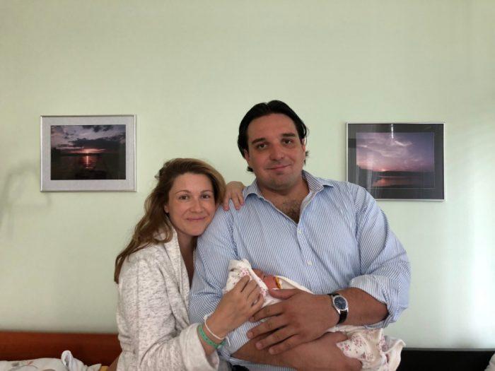 Kateřina Kněžíková a Adam Plachetka mají od začátku letošního června druhou dceru jménem Barborka