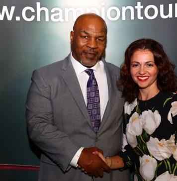 Moderátorka Eva Borská se setkala s boxerskou legendou Mike Tysonem cf2789722e