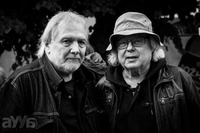 Vladimir Misik a Lubos Andrst na prvnim rocniku festivalu Krasny ztraty live 2016, foto Aja Dvorackova