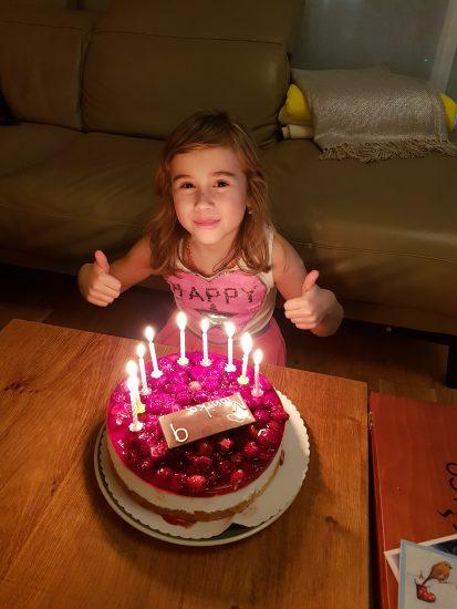 Dcera Evy Borské na konci roku oslavila 9 let