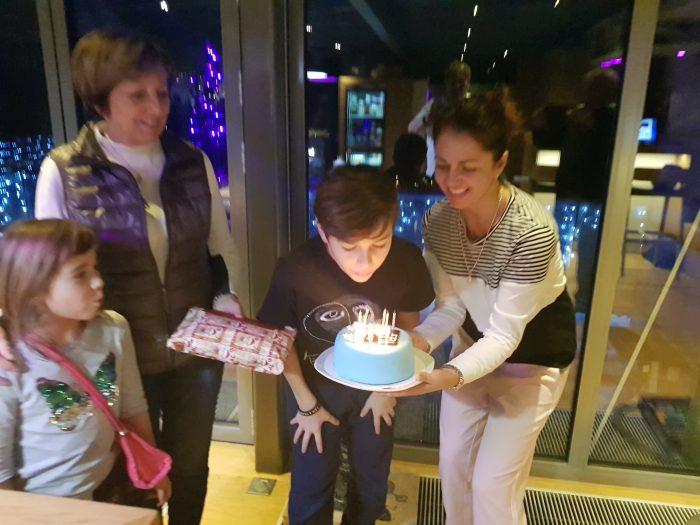 Oslava narozenin syna Petra