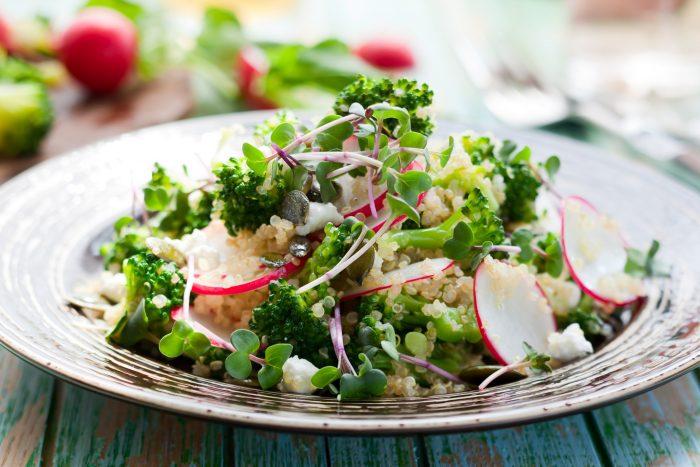 zeleninový salát 1