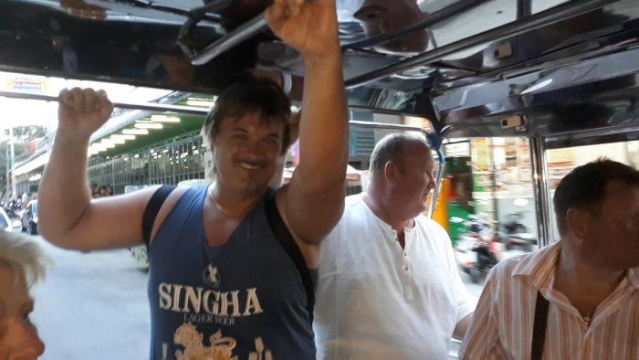 1 Jízda Tuk Tukem ve městě Pattaya