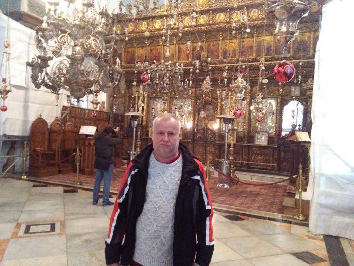 Betlem Chram Narozeni Pane v Betleme