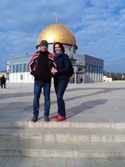 Jeruzalem 1 Skalni dom na Chramove hore v Jeruzaleme