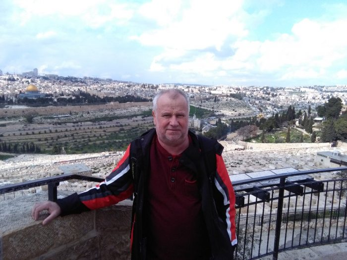 Jeruzalem 3 Panorama z Olivove hory