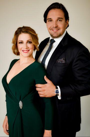 Kateřina Kněžíková s manželem Adamem Plachetkou 2018 (photo Marek Olbrzymek) 6