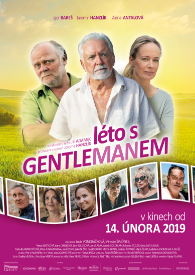 Leto s gentlemanem plakat 1413x2000