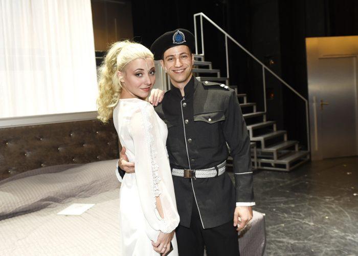 Anicka Slovackova s Milanem Peroutkou
